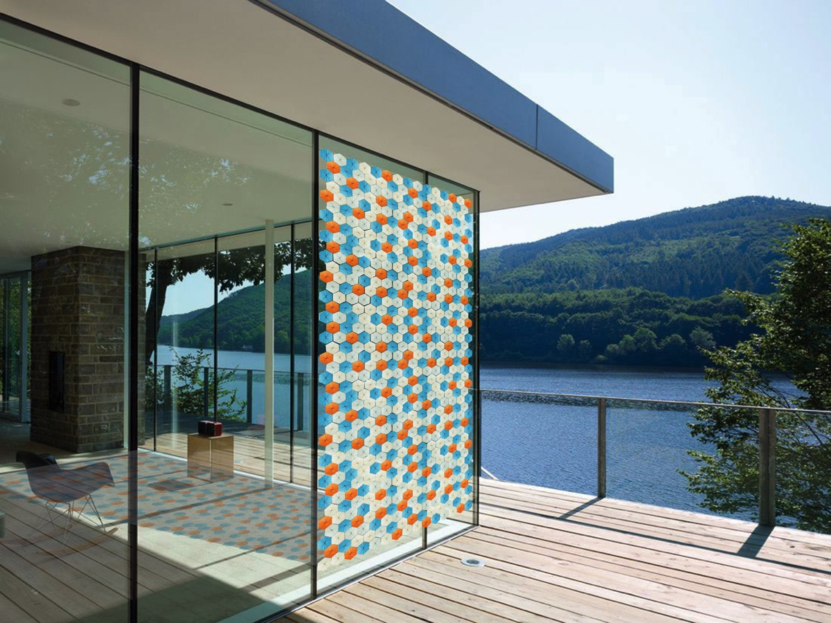 solar curtain panels,solar panels for home,innovative materials in architecture,modern homes with a view,large windows modern homes,