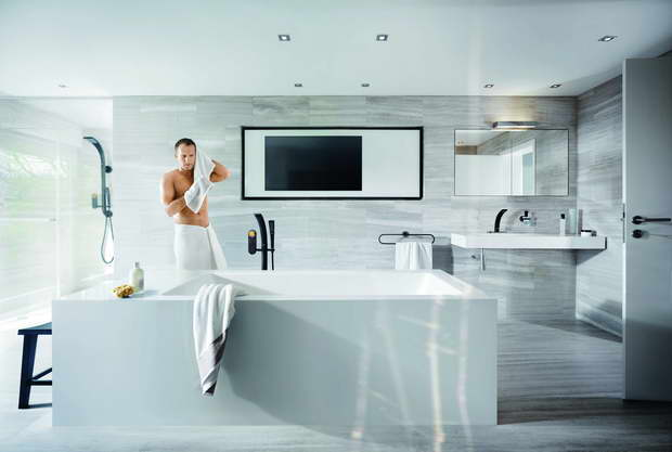 A bathroom layout providing for these zones will create a personalised  environment which appeals to all. Grohe All Bathrooms