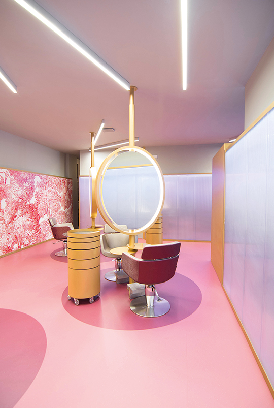Hair Salon Decoration Design – Rebuilding The Concept Of Hair