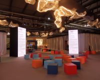 salone del mobile milan design week,creative office space ideas,innovative workplace design,trade show booth design inspiration,creative lighting displays trade show,