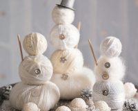 decorative snowman ideas,white Christmas decorations ideas,winter wonderland table centerpiece ideas,raffaello winter decorations,wool snowman decoration,