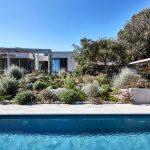 stone villa with garden and pool,mediterranean villa house design,villa on corsica design photos,villa design with swimming pool,modern stone houses architecture,