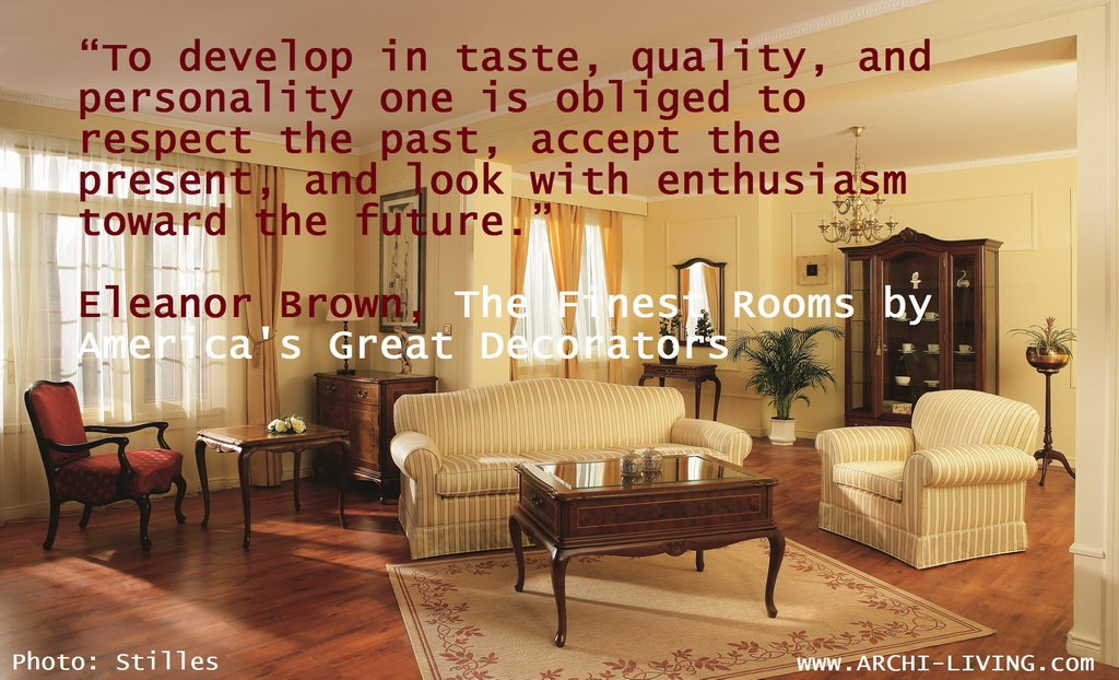 Design And Décor Quotes The Four