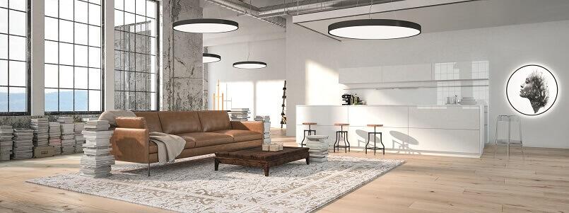 zumtobel lighting,acoustic lighting solutions,acoustic pendant light,how to light your living room,kitchen lighting placement tips,