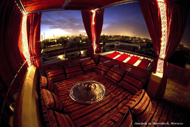AnaYela,Design Hotels,Marrakech,Morocco,hospitality design,hotel design,accommodation,hospitality decor,luxury hotels,travel ideas,travel destinations,travel attractions,travel inspiration,colors,red,red color,color,colourful,vibrant colors,primary colors,color theory,color symbolism,color healing,color treatment,color of love,sunrise,sunset,sunrise colors,sunset colors,