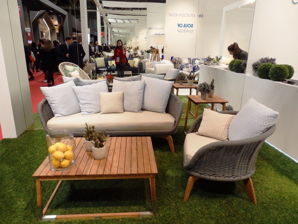 photogallery world trends in lighting and office design salone del mobilemilano - Outdoor Mobel Set Tribu