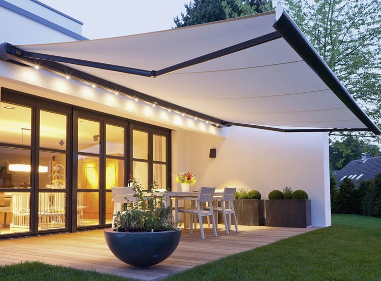 Automatic Awnings For House Design
