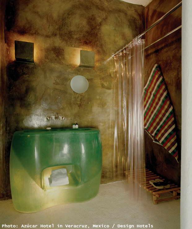 Azucar,Mexico,Design Hotels,green color,green color washbasin,bathroom decor,bathroom ideas,luxury bathrooms,luxury bathroom designs,designer bathroom,bathroom furniture,bathroom sink,bathroom vanities,bathroom storage units,bathroom interior,washbasin,bathroom showers,shower,spa design,spa design ideas,modern spa design ideas,modern spa design,luxury spa,luxury spa design,design spa,spa designers,spa decor,spa decor ideas,wellness,wellness design,hotel spa,hotel spa design,hotel spa wellness,hotels bath,exotic style,exotic interiors,furniture design,high end furniture,luxury furniture,design accessories,modern furniture design,modern furniture design ideas,designer furniture ideas,designer furniture,furniture designer,interior design,interior decorating,interior design ideas,room ideas,room decor ideas,hospitality design,hospitality,hotel design,hotels,strong colors,vibrant colors,pastel colors,color theory,