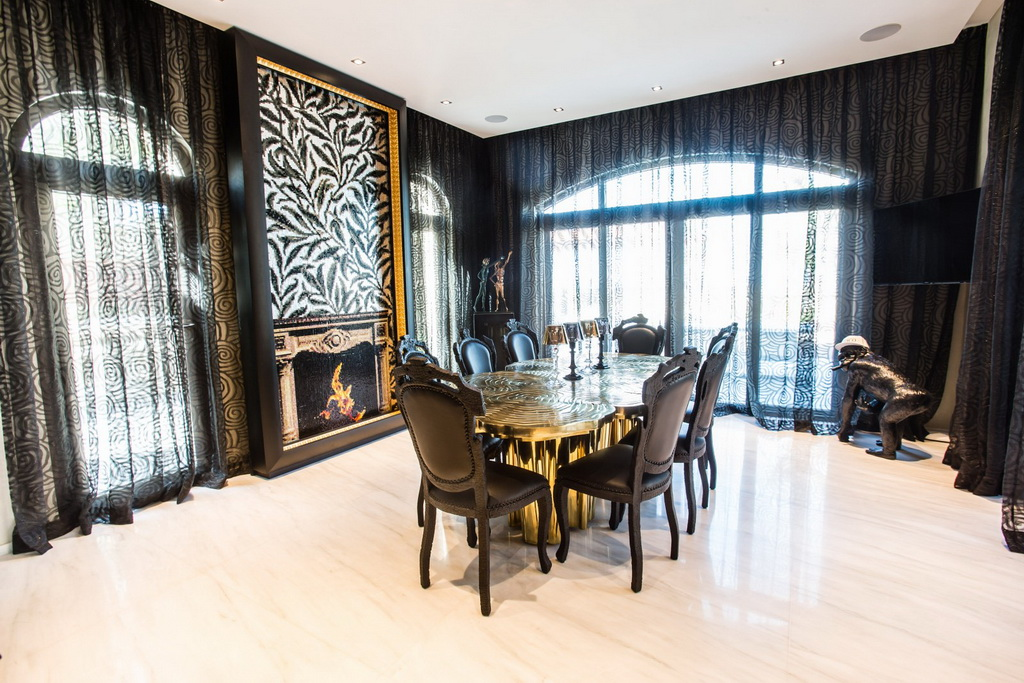 Saadiyat Private Residences,luxury dining room design,luxury dining room,designer furniture ideas,designer furniture,