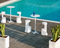 Outdoor Furniture, Pedrali, Garden Furniture, Terrace Design, Balcony Design, Garden Design, Outdoor Dining Room, Terrace, Balcony, Hospitality Design, Hospitality, Hotel Design, Table and Chairs, Seat and Table, Dining Room Furniture