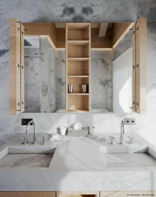 a trendy bathroom environment archi. Black Bedroom Furniture Sets. Home Design Ideas