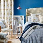 blue decor in bedroom,blue wall bedroom decorating ideas,