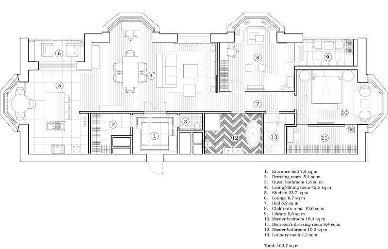 layout interior apartment,blueprint interior design moscow,large apartment floor plans,luxury apartment design interiors,top interior designers in russia,