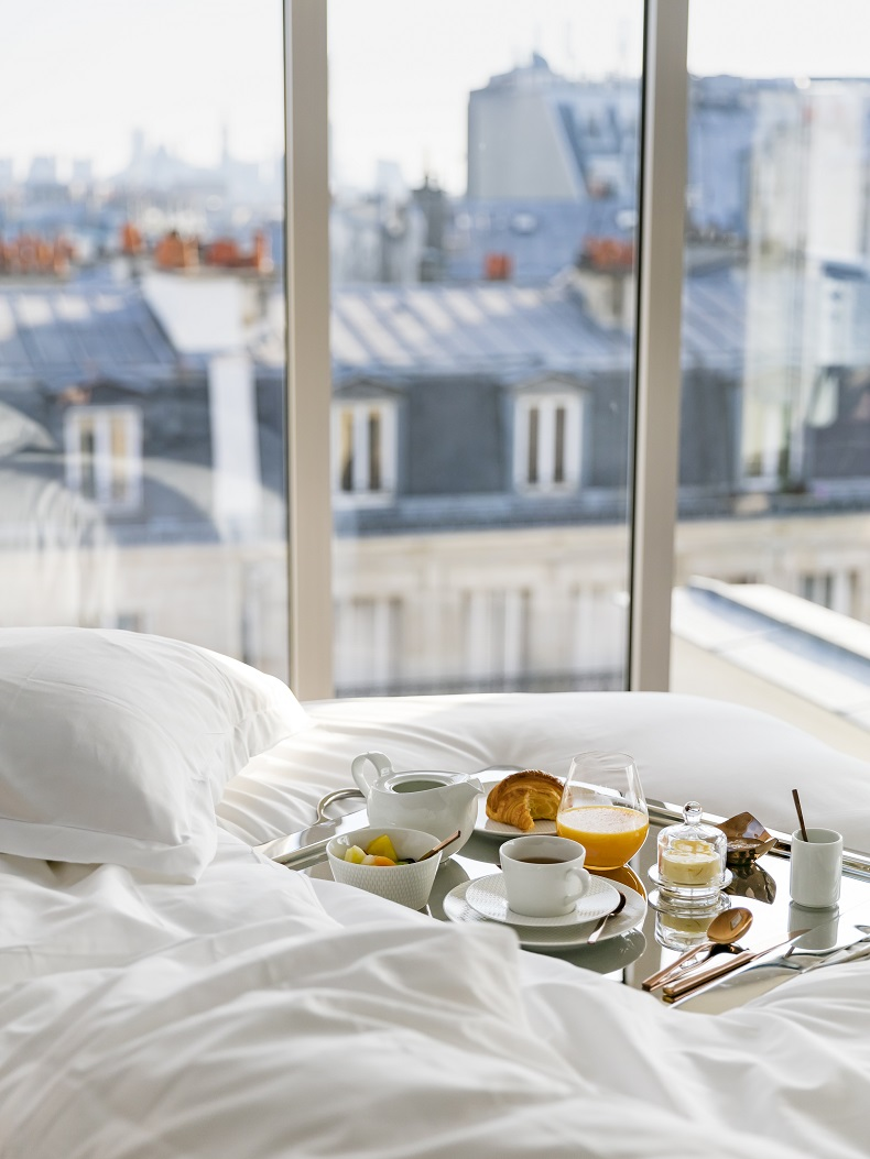 breakfast,hotel breakfast,breakfast in bed,breakfast in Paris,breakfast ideas,bedroom,hotel room,bedroom designs,hotel room design,hotel room ideas,hospitality design,hospitality,hotel design,hotels,accommodation,travel destinations,travel attractions,travel inspiration,travel ideas,family holidays,family holiday ideas,romantic travel,romantic vacations,