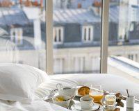 breakfast,Maison Albar Hotel Paris Céline,Paris,France,bedroom,hotel room,bedroom designs,hotel room design,hotel room ideas,hospitality design,hospitality,hotel design,hotels,accommodation,travel destinations,travel attractions,travel inspiration,interior design,interior decorating