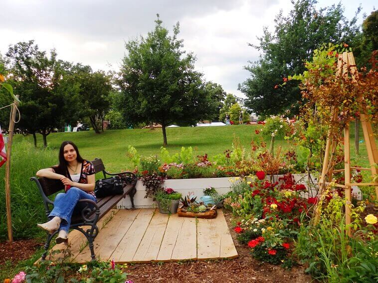 danica maricic,designer,archi-living,beautiful garden design ideas,flower art bundek,