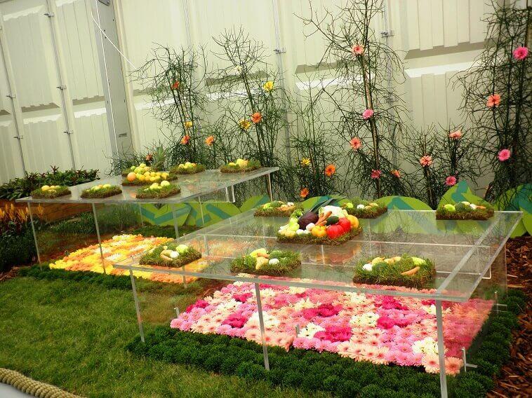 pink yellow and orange flowers,garden show europe croatia,beautiful garden design ideas,flower art bundek,floral art and design,