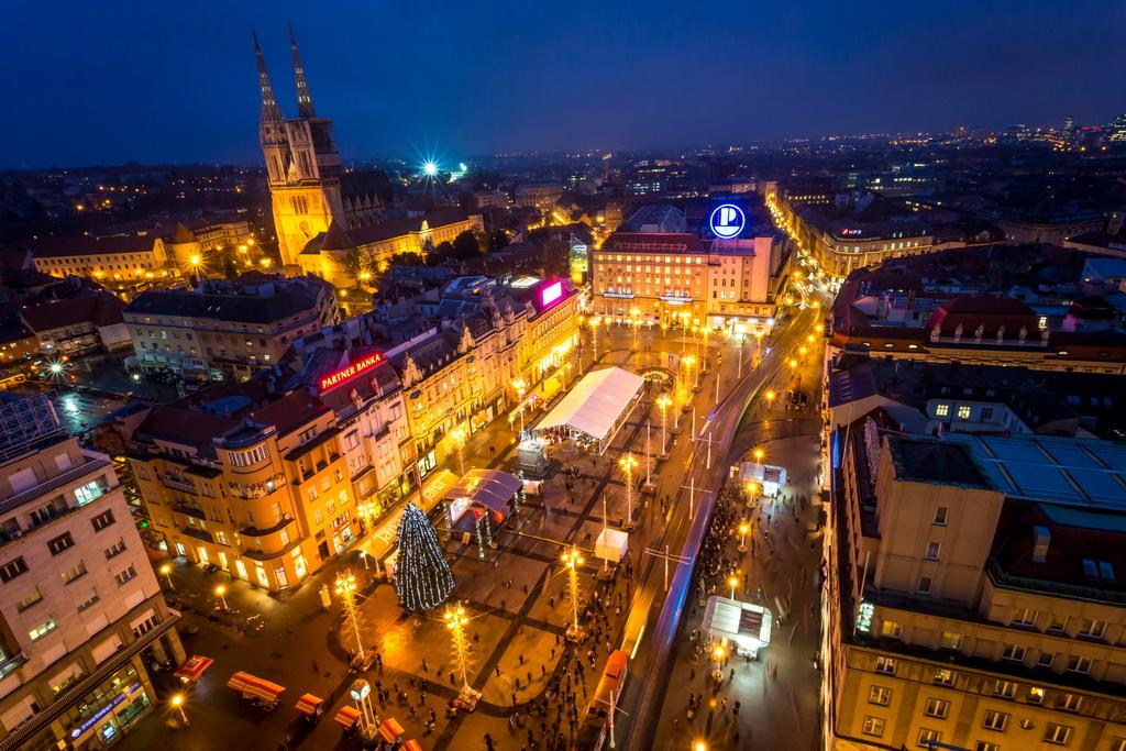 Zagreb, Croatia, Ban Jelacic Square, Julien Duval, Zagreb, Tourist Board, Archi-living