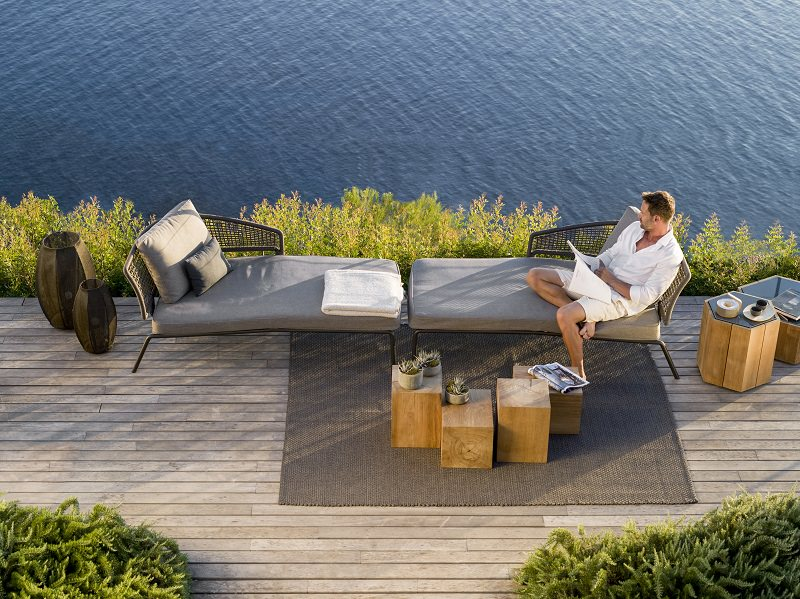 outdoor,outdoor furniture,outdoor sofa,garden design,design,garden furniture,tribu,Piergiorgio Cazzaniga,terrace,balcony,table and chairs,outdoor design,dining furniture,armchair,armchair design,outdoor rooms,dining room design,hospitality design,hospitality,hotel design,hotels,restaurants,restaurant design,dining room furniture,outdoor dining room,product design,restaurant furniture,product collection,designer,designers,terrace design,balcony design,sun loungers,poolside,pool lounge,swimming pool,garden chairs,deck chairs,garden accessories,garden seat,stainless steel,stainless steel furniture,high end furniture,bar design,neutral color palette,living room decorating ideas,luxury apartments,apartment design,holiday apartments,design inspiration,design ideas,home style,home decor styles,decoration ideas,summer decorations,summer decorating ideas,