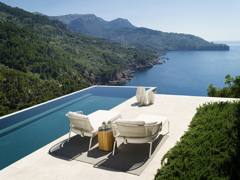 sun loungers,poolside,pool lounge,swimming pool,garden chairs,deck chairs,garden accessories,garden seat,stainless steel,stainless steel furniture,high end furniture,bar design,neutral color palette,living room decorating ideas,luxury apartments,apartment design,holiday apartments,design inspiration,design ideas,home style,home decor styles,decoration ideas,summer decorations,summer decorating ideas,modern apartment design,luxury furniture,seating furniture,sofa,modern furniture design ideas,designer furniture ideas,designer furniture,table design ideas,furniture designer,outdoor,outdoor furniture,outdoor sofa,garden design,design,garden furniture,tribu,Piergiorgio Cazzaniga,terrace,balcony,
