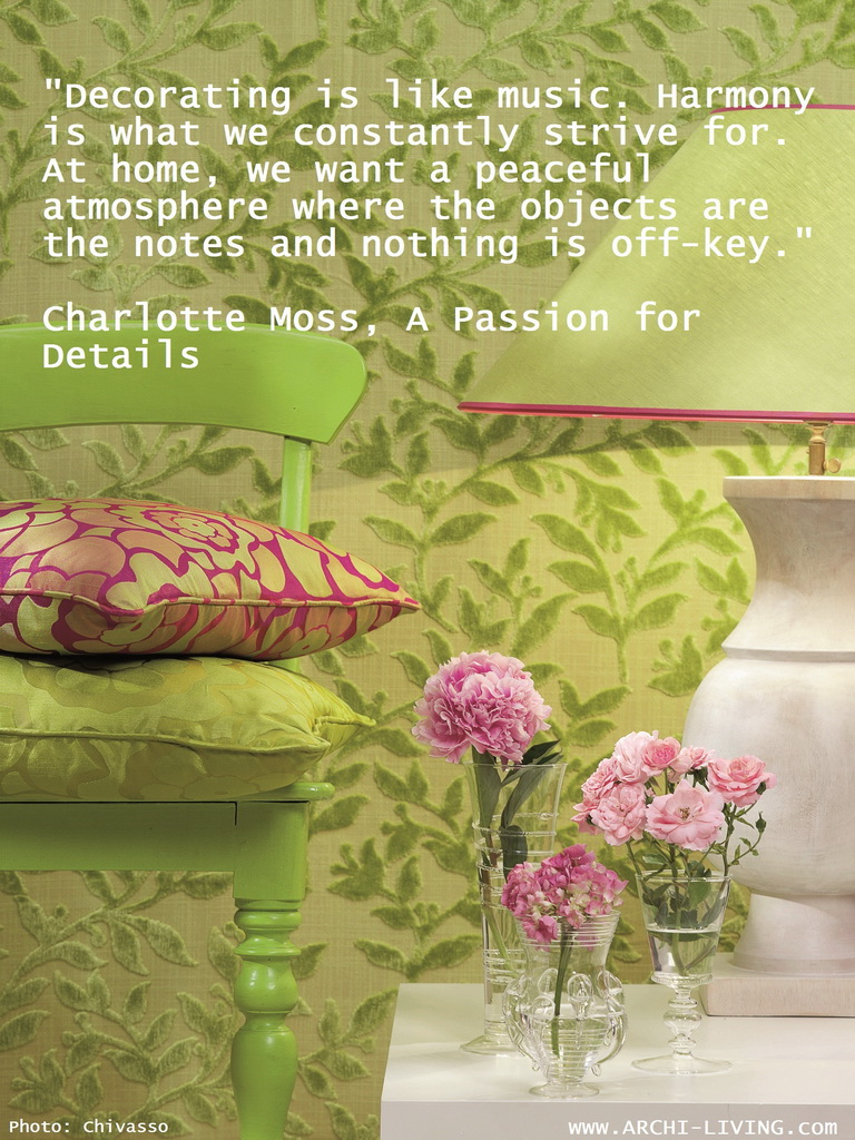 The four seasons of inspiration design and décor quotes