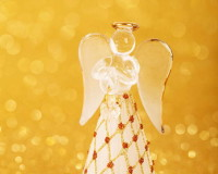 glass angel Christmas ornaments,glass Christmas ornaments,golden holiday decoration ideas,gold white red holiday decor,crystal angel Christmas ornaments,