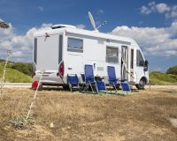 Caravan, Outdoor Adventures, Romantic Couple Travelling, Recreational Vehicle, Motor Home