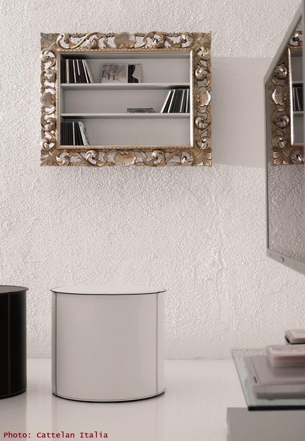 decorative frame shelves,designer shelves wall,creative office interiors,white office design,modern office design,