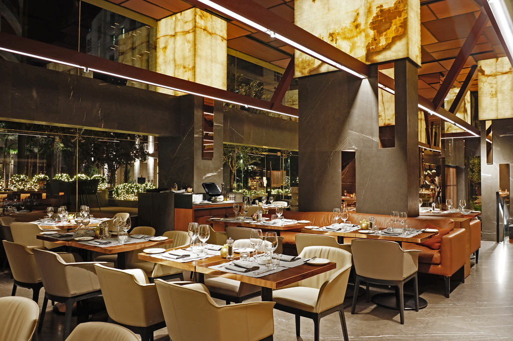 Interiors, Gatserelia Design, high-end, Restuarant, Celcius