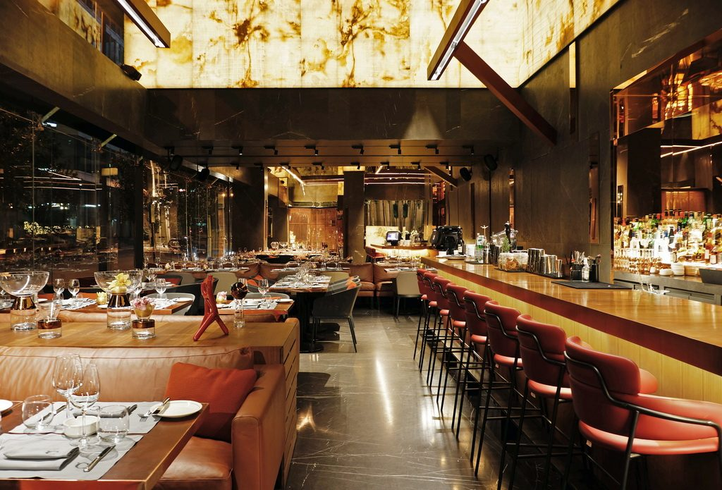 Modern restaurant lounge discover the interiors of