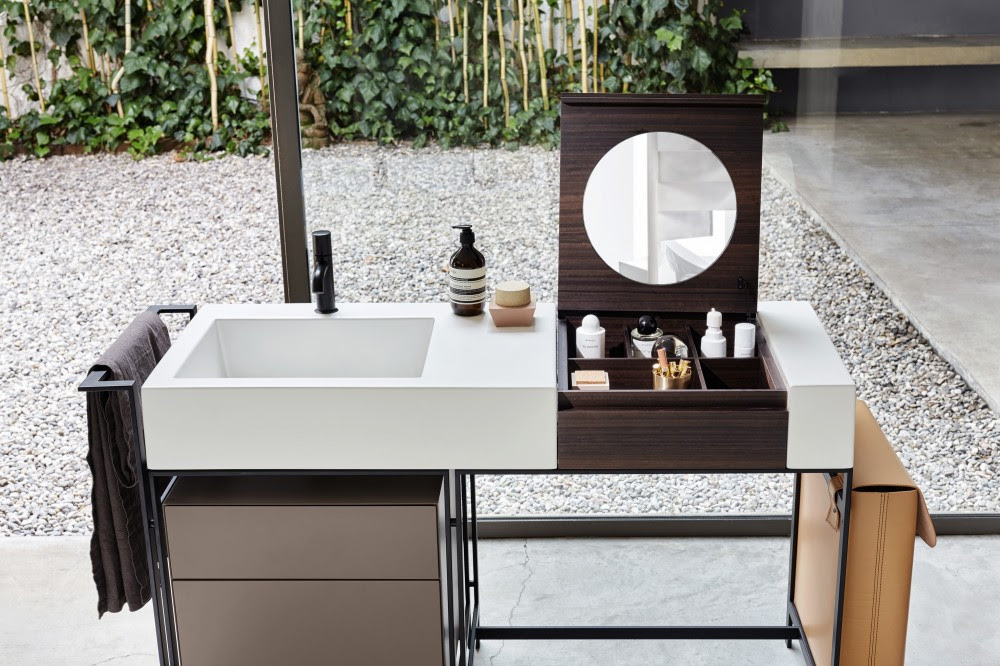 ceramic is at the heart of milano and narciso two new bathroom collections from cielo