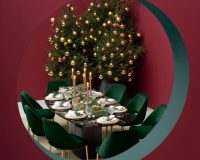 Christmas dinner decorations table,table arrangement ideas,natural Christmas table decoration ideas,red white and silver Christmas table,simple Christmas table ideas,Christmas table inspiration,Christmas table layout,red and white Christmas table setting ideas,Pedrali,Italian furniture brands,designer furniture,red and white table decorations,red and gold table setting,table setting ideas,table decoration ideas,holiday table,tablecloth ideas,tableware design,tableware,holiday table ideas,holiday table decorations,holiday table design,Christmas table decorations,dining room design,dining room furniture,Christmas decoration ideas,creative ideas for Christmas decorations,Christmas tree decorations ideas,white and red Christmas tree decorating ideas,red white gold Christmas tree,Christmas tree decorations,red and white themed Christmas tree,lamp design,designer lighting,designer lamps,