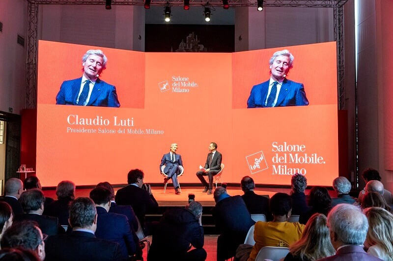 Claudio Luti,President of the Salone del Mobile,milano design week 2019,design news,design trade show,