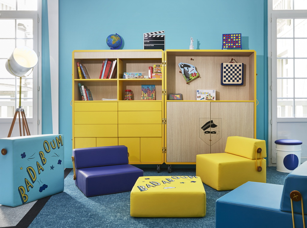 Kids Clubs At Barriere Hotels Designed By Sophie Jacqmin Archi Living Com