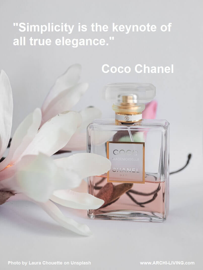 coco chanel quotes images,coco chanel quote on elegance,coco chanel quotes on simplicity,perfume and flower photo ideas,quotes by fashion designers,