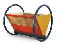Cradle by Peter Keler,Bauhaus arts and architecture academy,famous Bauhaus designers,Bauhaus furniture collection,Thuringia Germany,