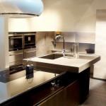 Küche für eine angenehme Arbeit und Aufenthalt