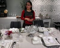 Danica Maricic,how designers decorate for Christmas,interior designer decor ideas,white and silver holiday table settings,professional holiday interior decorators,