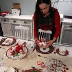 Danica Maricic,how designers decorate for Christmas,interior designer decor ideas,red and green holiday table settings,professional holiday interior decorators,