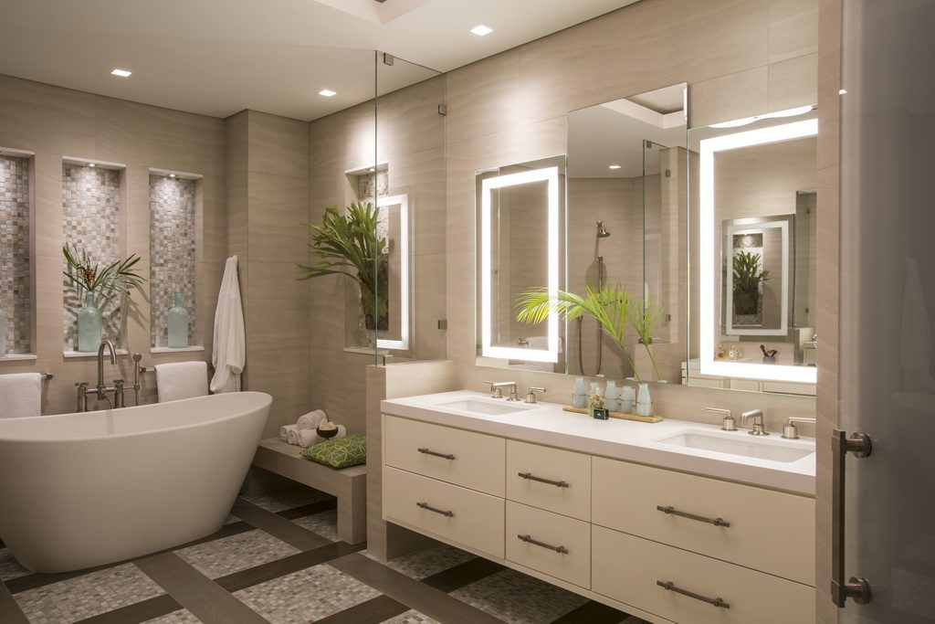 Donna shalala 39 s penthouse condo in miami florida archi for Bathroom remodeling miami