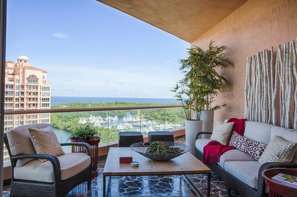 donna shalala 39 s penthouse condo in miami florida archi. Black Bedroom Furniture Sets. Home Design Ideas