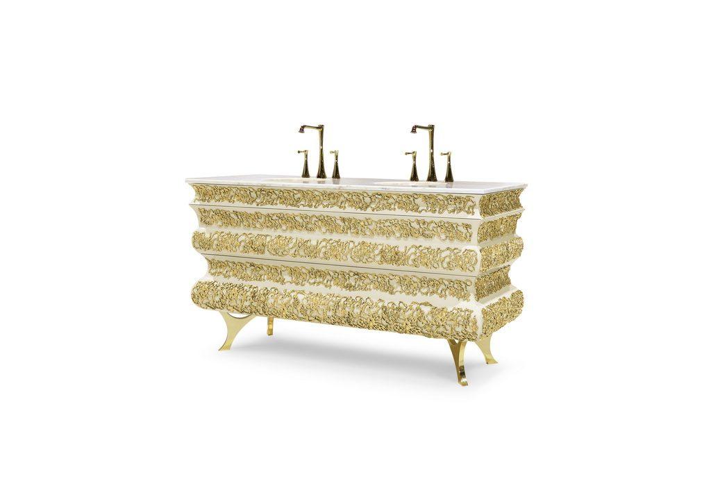 art for the bathroom crochet washbasin archi. Black Bedroom Furniture Sets. Home Design Ideas