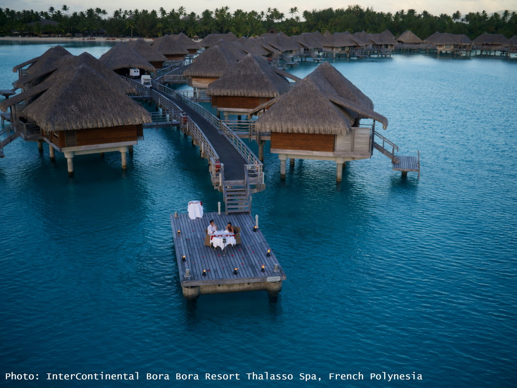 intercontinental bora bora resort thalasso spa,french polynesia,bora bora,romantic dinner,romantic dinner ideas,romantic travel destinations,destination wedding,romantic travel ideas,outdoor dining room,outdoor dining room furniture,outdoor,outdoor furniture,outdoor sofa,garden design,design,garden furniture,terrace,balcony,outdoor design,sea view,seaview bungalows,luxury seaview bungalows,hospitality design,hospitality,hotel design,hotels,travel attractions,travel inspiration,travel ideas,family holidays,family holiday ideas,romantic travel,romantic vacations,luxury hotels,hotel design ideas,hospitality design ideas,blue sky,blue sea,beach holidays,sandy beach,