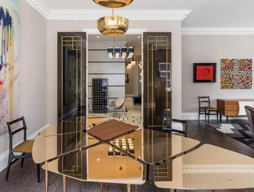 golden metallic table,designer furniture ideas,table design ideas,luxury table,luxury furniture brands,