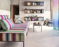 weekend house design ideas,home decorating fabric,living room design,designer sofas,vibrant color palette,