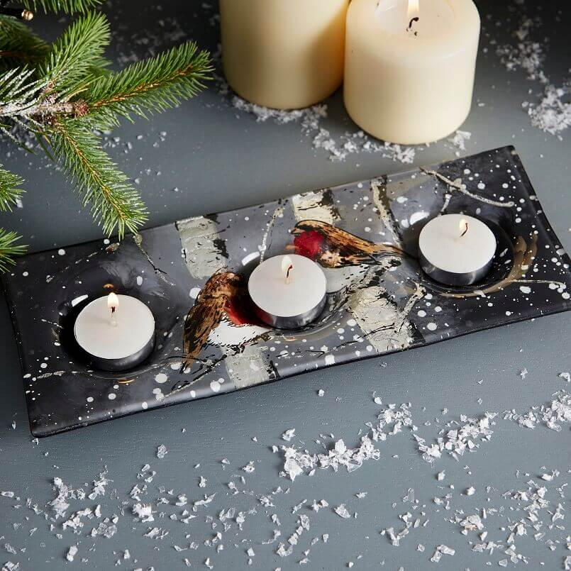 tea light candle holder,holiday candle holders,tea light candle holders plate holiday,festive table centerpiece,holiday table decorations,