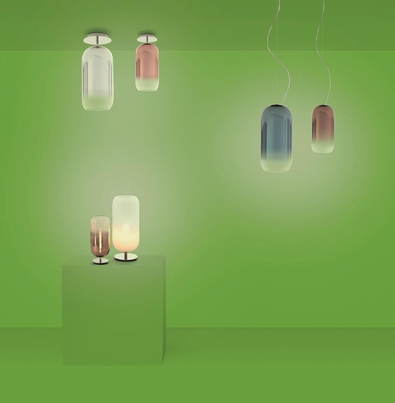 artemide gople lamp,sustainable lighting fixtures,designer ceiling lights for living room,designer table lamps for living room,best italian lighting companies,