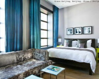 grey blue bedroom,design hotel rooms,blue curtains bedroom,