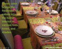 dining table setting ideas in green,dining room ideas green,green and pink table decorations,spring table decor ideas,interior decorating theme green,