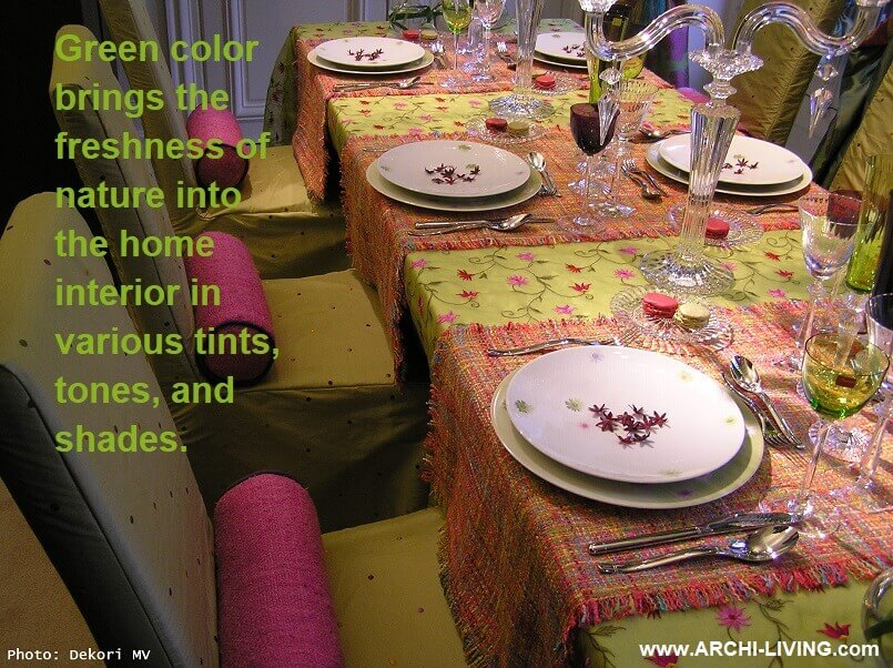 dining room ideas green,green and pink table decorations,spring table decor ideas,dining table setting ideas in green,interior decorating theme green,